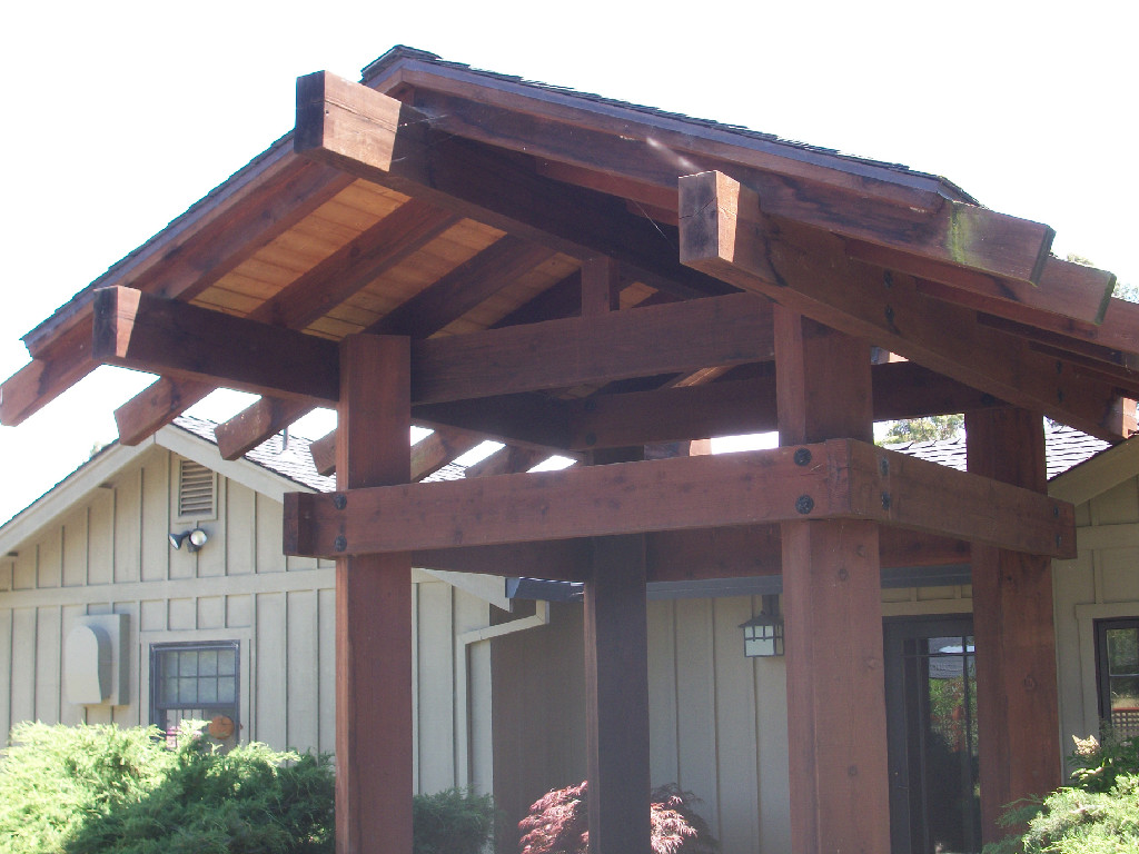 contruction services - japanese style arbor entry